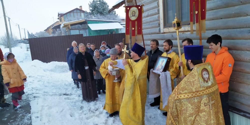 Освящение храма в Рыжово. Заметка + ФОТОАЛЬБОМ