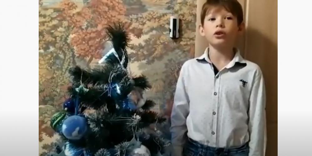 Воспитанники воскресной школы подготовили видеопоздравление с Рождеством Христовым