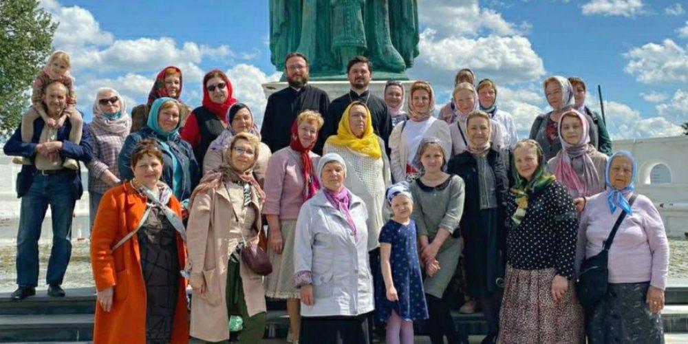 Прихожане Вороновского храма совершили паломничество в Переславль-Залесский и Годеново